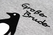 T-Shirt Druckverfahren Flock-Transferdruck
