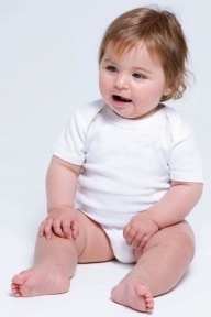 Babybugz Organic Baby Short Sleeve Body