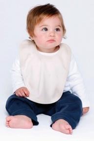 Babybugz Bio Baby-Lätzchen mit Bändern