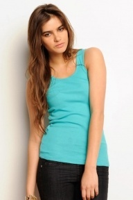 Bella Ladies 2x1 Rib Tank Top