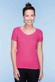 Mantis Womens Lighterweight V-neck Tee