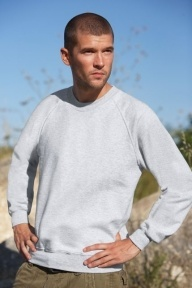 Fruit of the Loom Raglan Sweatshirt mit 280 g/qm
