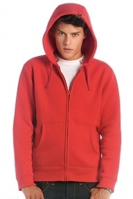 B&C Men Hooded Full Zip