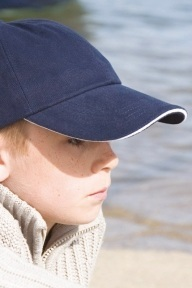 Result Headwear Kids Brushed Cotton Sandwich Cap - RC24PJ