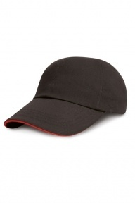 Result Headwear Brushed Cotton Sandwich-Basecap