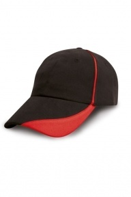 Result Headwear Brushed Cotton Drill Cap, 2-farbig