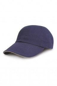 Result Headwear Heavy Cotton Drill Sandwich Cap
