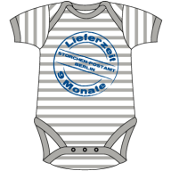 Baby Striped Short Sleeve Bodysuit