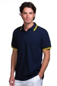 Kustom Kit Tipped Piqué Poloshirt