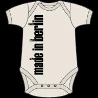 Organic Baby Short Sleeve Body