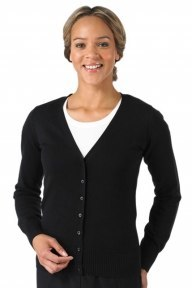 Russell Europe Ladies V-Neck Knitted Cardigan