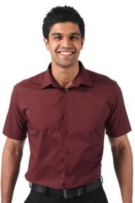 Jerzees Tailliertes Stretch-Hemd