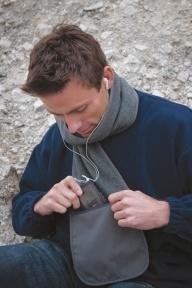 Result Fleece Schal mit Tasche