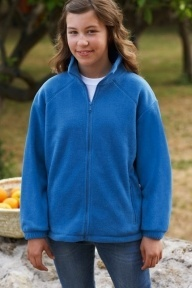 Fruit of the Loom Kids Fleece Jacke
