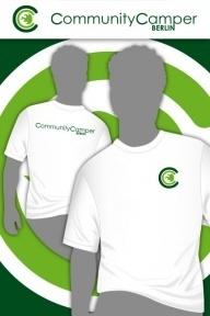 Hauptstadtshirts CCB Men-Shirt, weiß