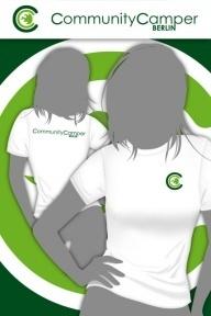 Hauptstadtshirts CCB Girly-Shirt, weiß