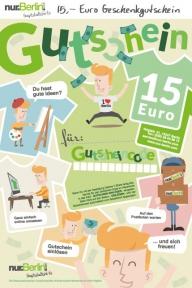 nur.Berlin® Geschenk-Gutschein 15,- Euro