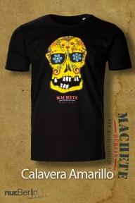 Machete Calavera Amarillo T-Shirt