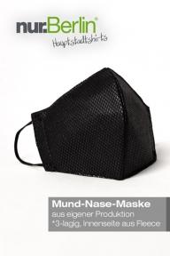 nur.Berlin® Mund-Nasen-Maske