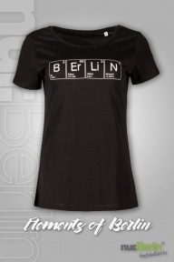 nur.Berlin® Damen T-Shirt Elements of Berlin
