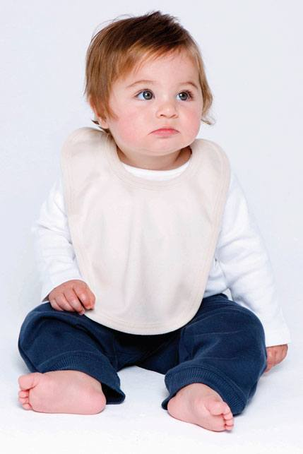 Bio Baby-Lätzchen mit Bändern
