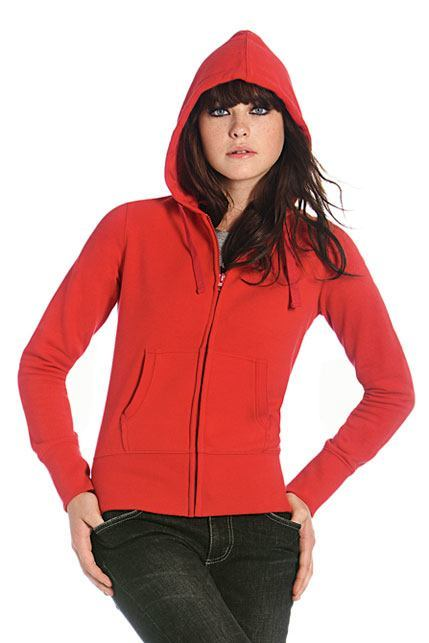 Women Hooded Full Zip