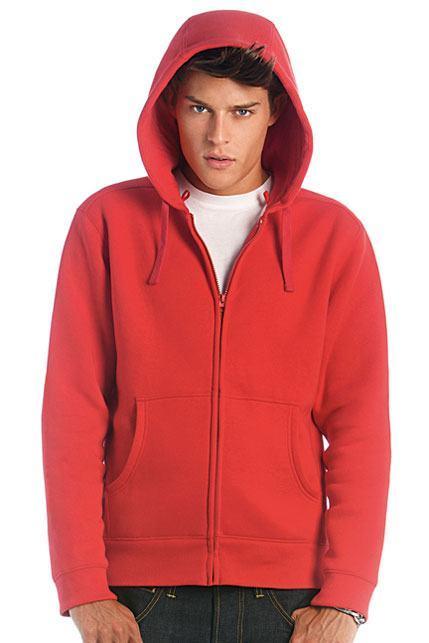 Men Hooded Full Zip