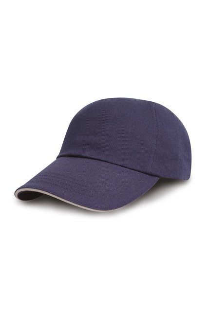 Brushed Cotton Drill Sandwich-Cap