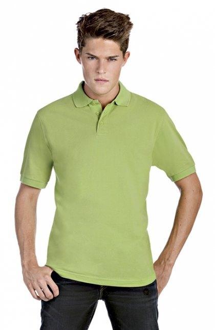 Herren Piqué Poloshirt Safran