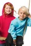 B&C Kids Hooded Sweat - Bild 2 von 2
