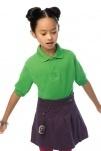 B&C Kinder Poloshirt Safran /kids - Bild 2 von 2