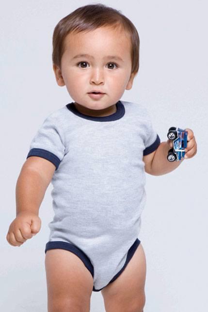 Produktbild: Babybugz Baby-Strampler Ringer Bodysuit