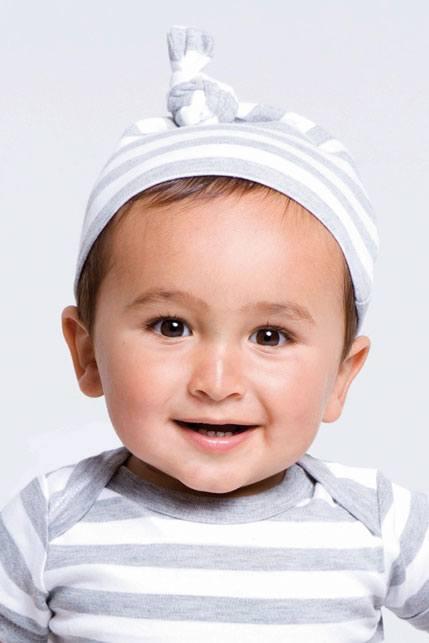 Produktbild: Babybugz Baby Striped 1 Knot Hat