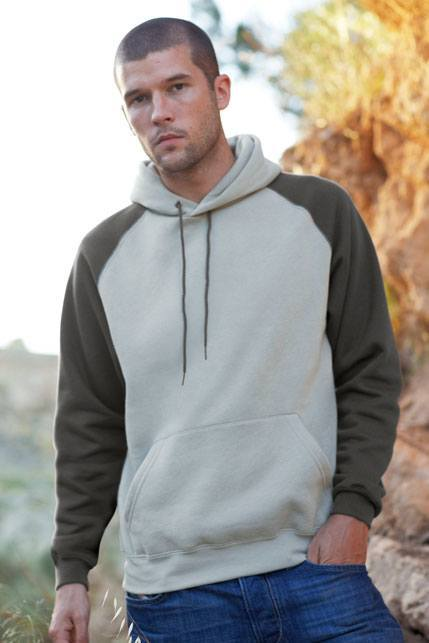 Fruit of the Loom Baseball Hooded Sweat