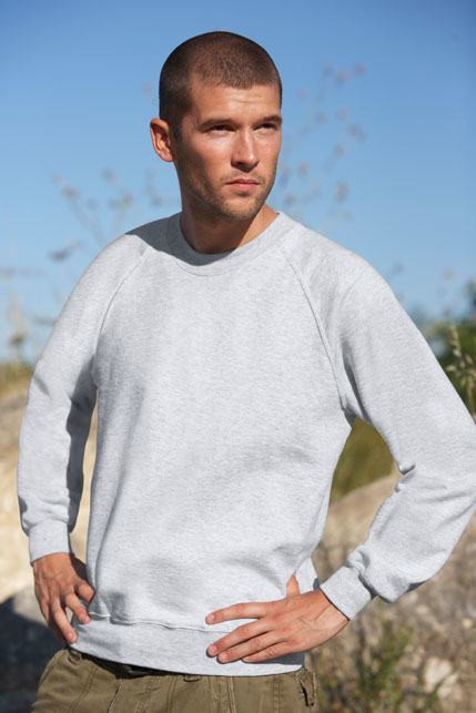 Produktbild: Fruit of the Loom Raglan Sweatshirt mit 280 g/qm
