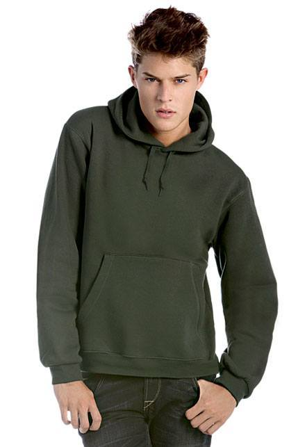 B&C Kapuzen-Sweatshirt