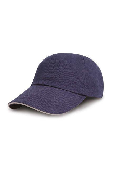 Produktbild: Result Headwear Brushed Cotton Drill Sandwich-Cap