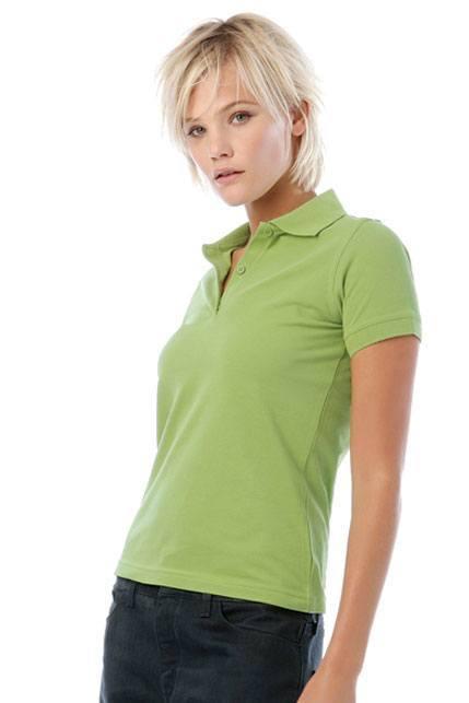 Produktbild: B&C Poloshirt Safran Pure /women