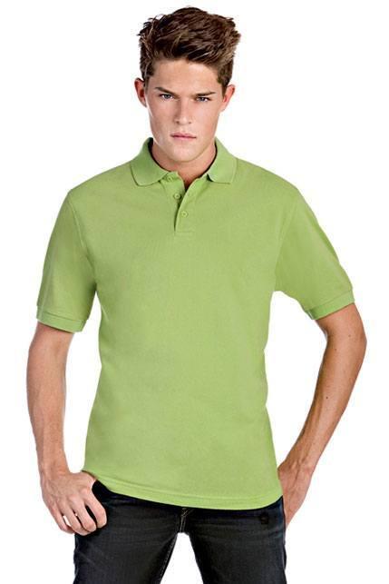 Produktbild: B&C Herren Piqué Poloshirt Safran