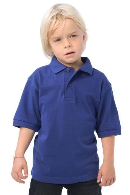 Produktbild: B&C Kinder Poloshirt Safran /kids
