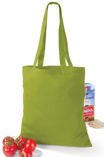 Produktbild: Westford Mill Baumwollbeutel / Einkaufsbeutel