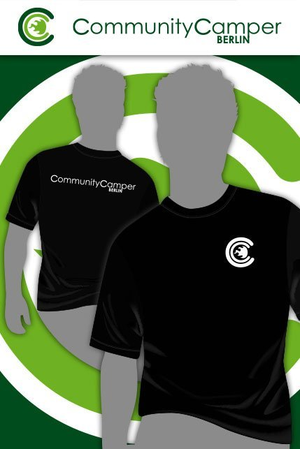 Produktbild: Hauptstadtshirts CCB Men-Shirt, schwarz