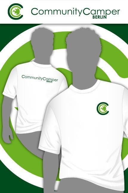 Produktbild: Hauptstadtshirts CCB Men-Shirt, weiß