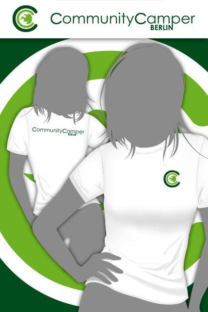 Produktbild: Hauptstadtshirts CCB Girly-Shirt, weiß