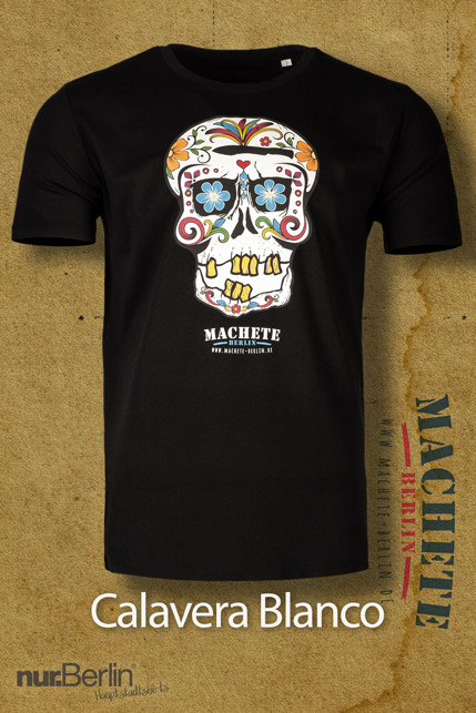 Produktbild: Machete Calavera Blanco T-Shirt