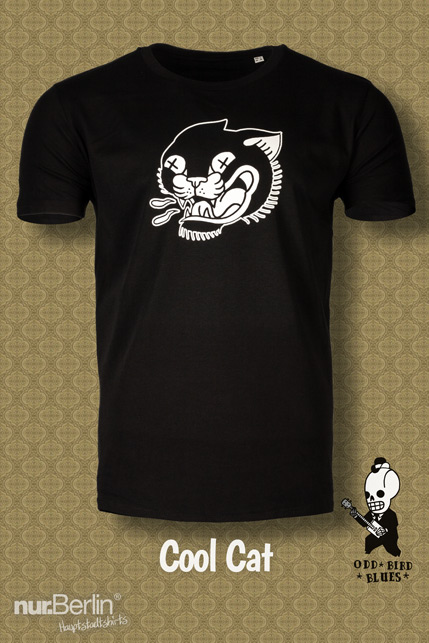 Produktbild: Odd Bird Blues Cool Cat T-Shirt