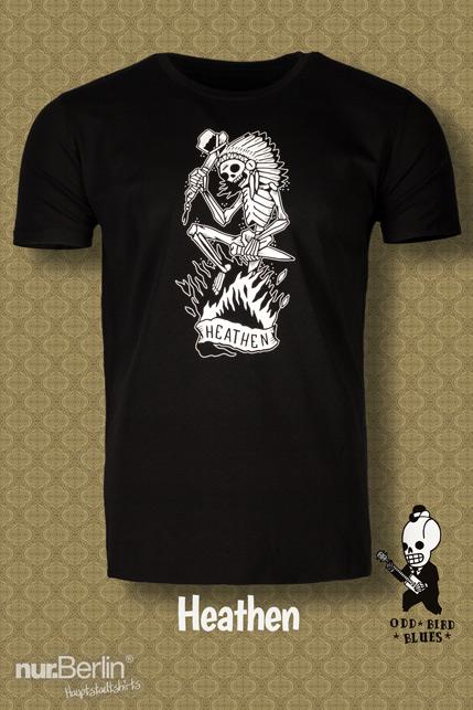 Produktbild: Odd Bird Blues Heathen T-Shirt